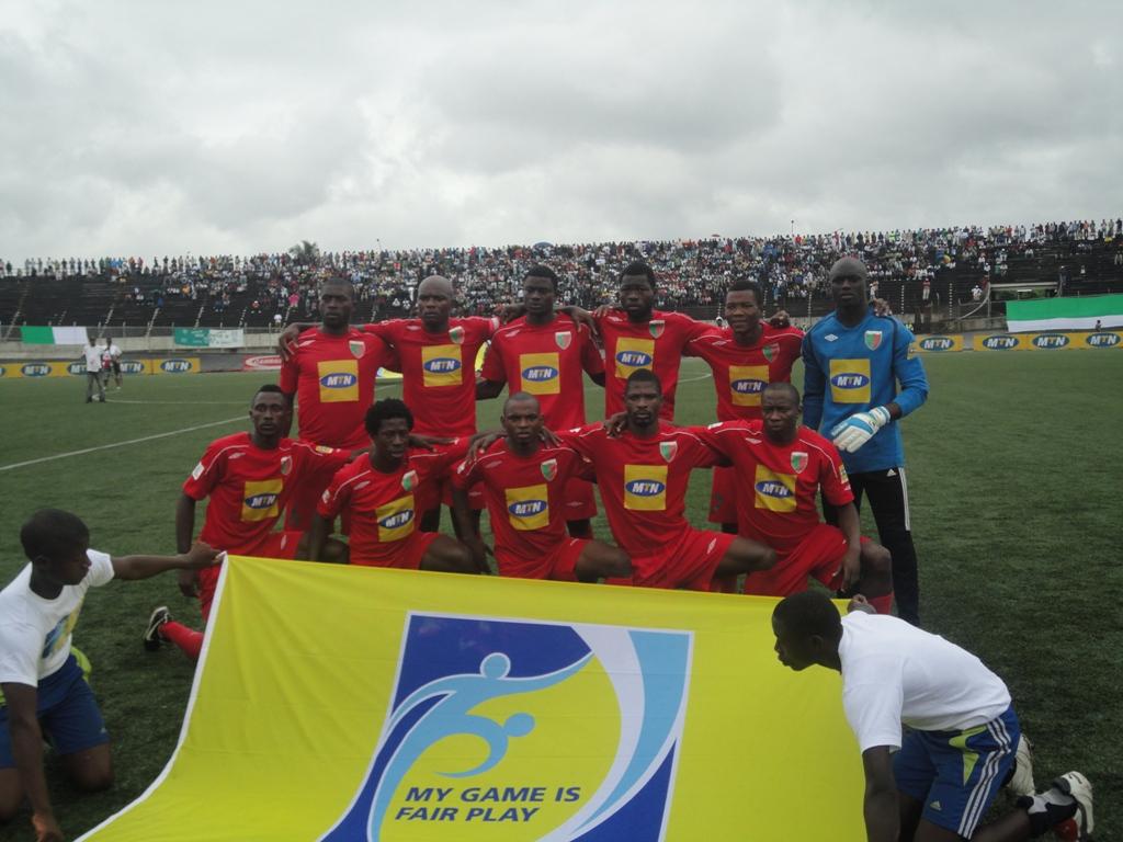Canon de Yaoundé, une des équipes finalistes